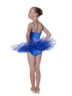 Snow Sequin Velvet Tutu
