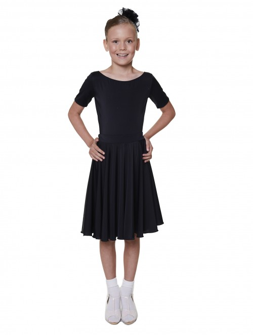 Mid Length Ballroom Skirt