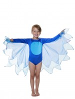 Blue Bird Costume